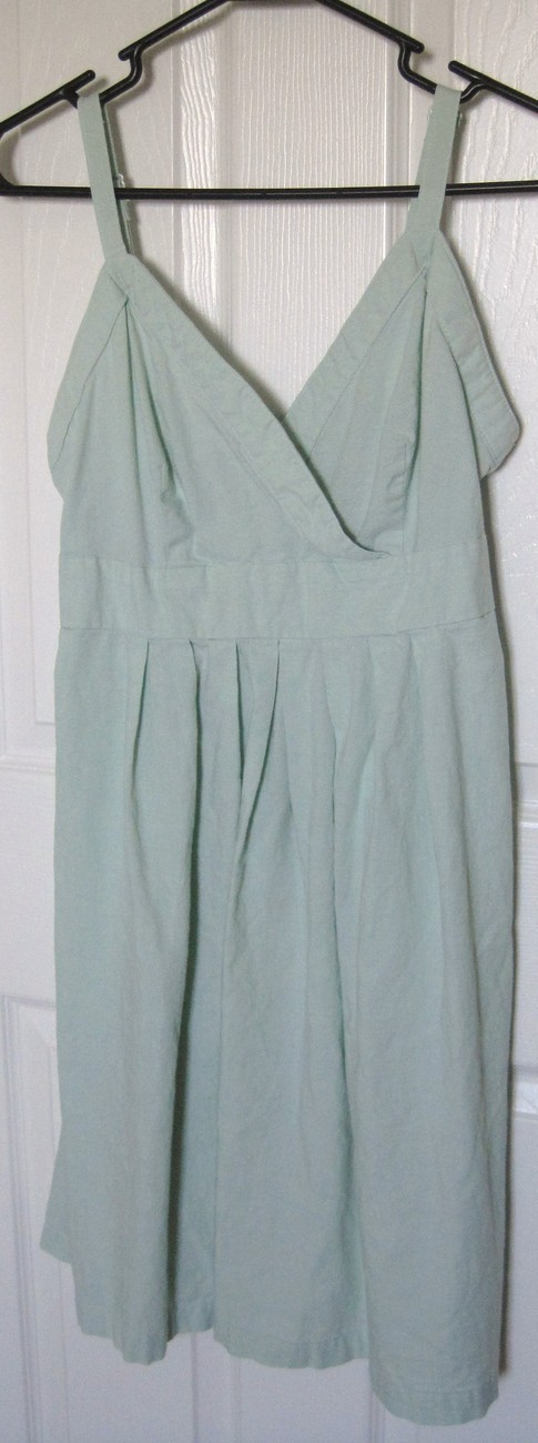Mint Green Sleeveless Dress Medium