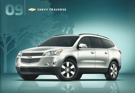 2009 Chevrolet TRAVERSE sales brochure catalog US 09 Chevy LS LT LTZ - $6.00