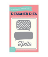 Echo Park Dies Thought Bubbles & Hello EPPDIE1 - $8.21