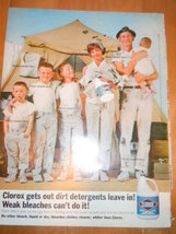 Vintage Clorox Bleach Print Magazine Advertisem... - $5.99