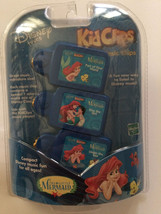 NEW Disney Tunes KIDCLIPS Kid Clips Music Chip Song 3-Pack THE LITTLE ME... - $44.41