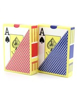 Waterproof Durable PVC Plastic Playing Cards Novelty Poker Card Pokersta... - $11.90