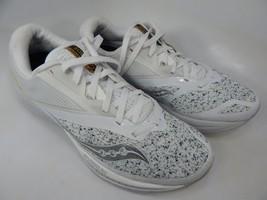 Saucony Kinvara 9 Size 9 M (D) EU 42.5 Men's Running Shoes White Noise S20418-40