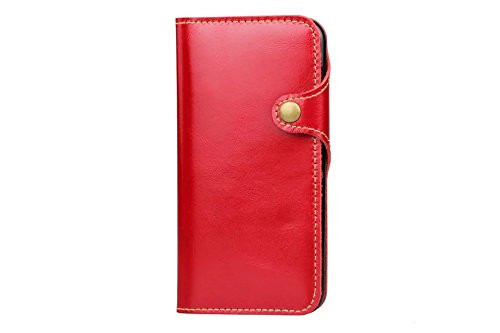 iPhone 6 Plus Case, GangXun Flip Wallet Leather Case Magnetic Cover with Stand C