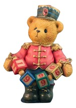 Cherished Teddies Jeffrey Striking Up Another Year LE 1996 Retired - $22.41