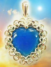 HAUNTED NECKLACE BRING BACK LOVE & HELP MY BLUE HEART MAGICK MYSTICAL TREASURE  - $377.77