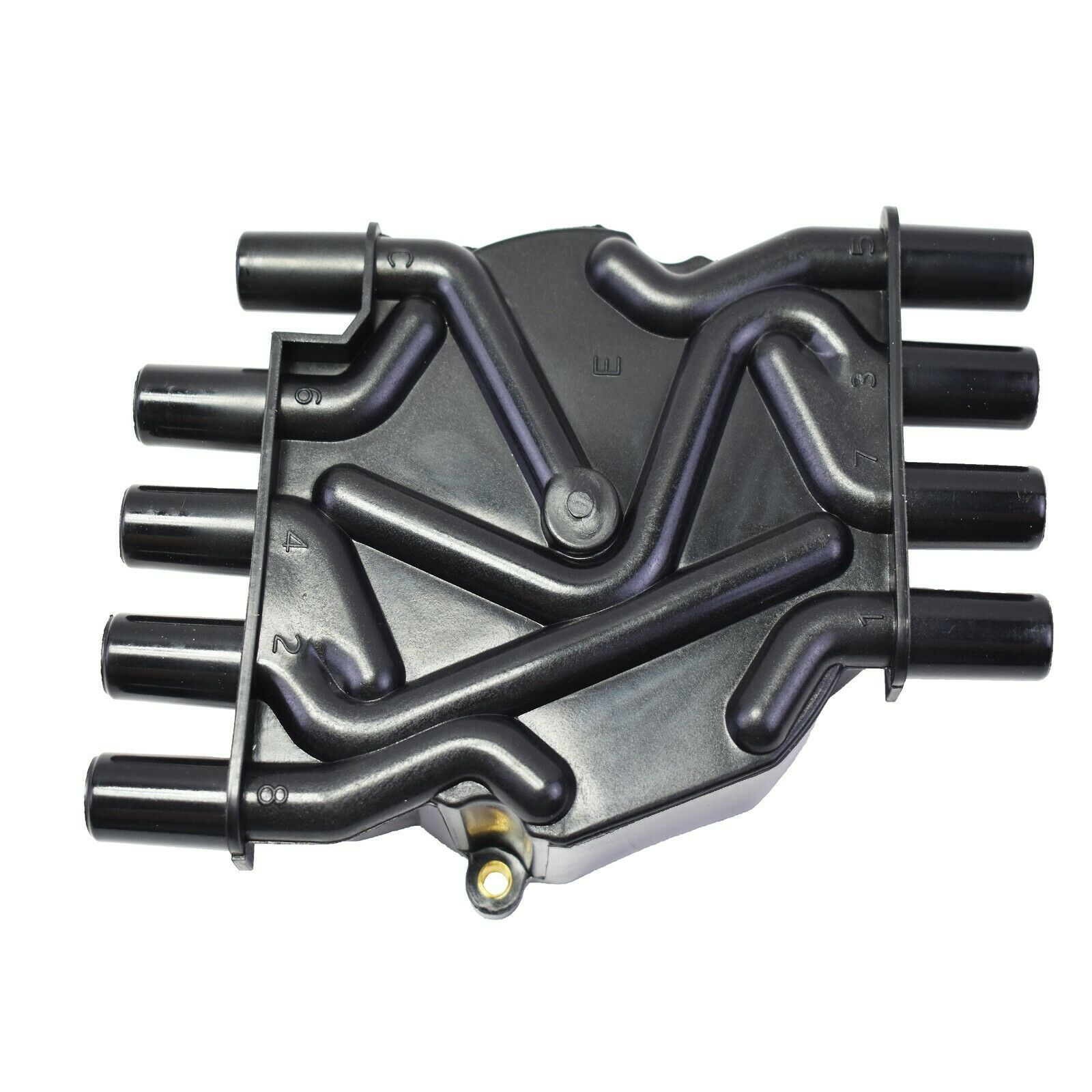 Vortec V-8 Distributor Cap D329A Compatible with Chevy GM - Black