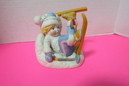 The United Nations 1978 Hand Painted Porcelain Figurine Sven From Norway - $9.95