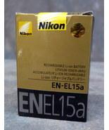 NEW EN-EL15a Battery Rechargeable for Nikon D850 D600 D610 D750 D7100 D7... - $32.00