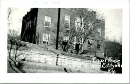 Vintage Kodak Vero Foto Cartolina RPPC Tribunale Casa Eddyville Kentucky - $63.69