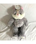 """Noahs Ark Plush Gray Cat Plush Stuffed Animal Toy 16.5"""" Kitten Kitty New - $12.70"""
