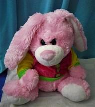 Hug & Luv Pink Rabbit Plush - $17.47