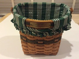 Longaberger 1998 Lefty Glad Tidings Christmas Collection Basket - $36.00