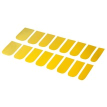 16pcs Solid Color Nail Art Flash Powder Texture(GOLDEN) - $5.95