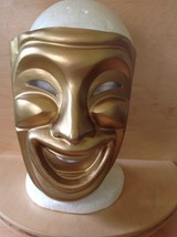Gold Theatre Comedy Mask - $9.90