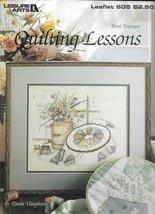 Vtg Leisure Arts Leaflet 605 - Quilting Lessons - Book 14 - $8.42