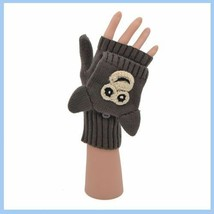 Flip Mittens Monkey - Unisex One Size Fits Most - Mittens to Fingerless Gloves image 2