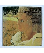 "TAMMY WYNETTE       "" The World of Tammy Wynette ""   1970 Double Country LP - $10.00"