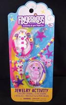 Fingerlings Minis Unicorns Jewelry charms necklace bracelet kit NEW - $3.95