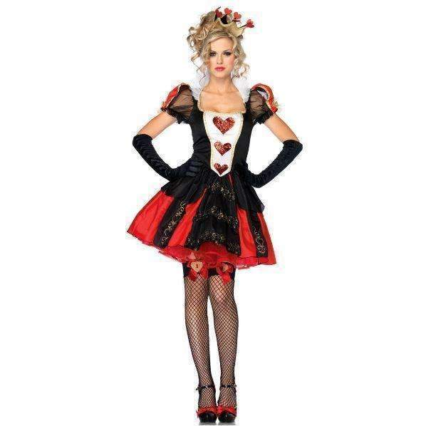 Y dress for less halloween customes queen of hearts women halloween party costumes 1406711431199