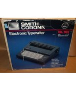 Smith Corona Electronic Typewriter SL 80 with Word Eraser - $178.20