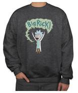 Big Rick! Sweater Sweatshirt CHARCOAL HEATHER - $30.00