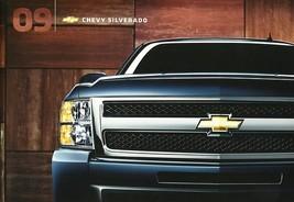 2009 Chevrolet SILVERADO sales brochure catalog US 09 Chevy HD WT LT LTZ - $9.00
