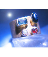 HAUNTED 300X WITCH'S CHAIN OF POWER RING RISING MAGICK OFFERS ONLY OOAK ... - $89,007.77