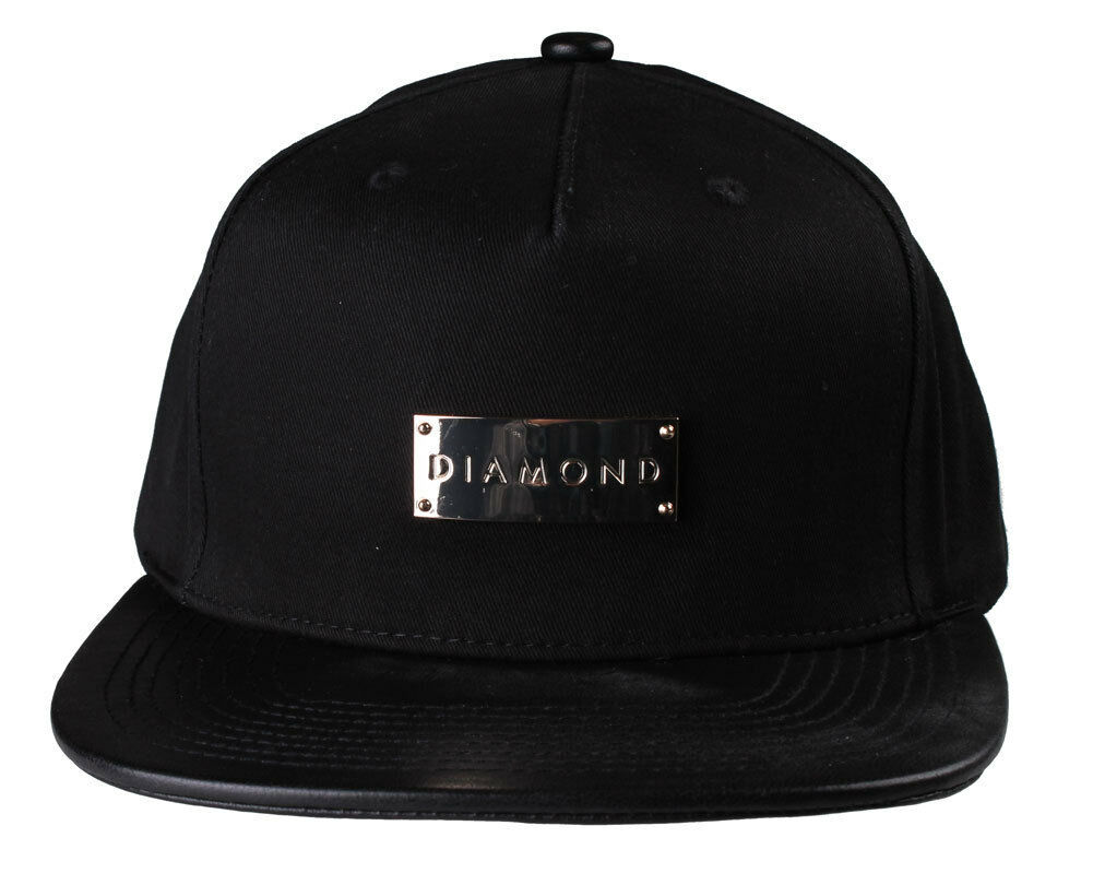 Diamond Supply Co. Men's Badge ClipBack Hat NWT