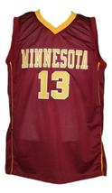 Maverick ahanmisi  13 custom college minnesota  basketball jersey maroon   1 thumb200