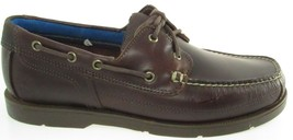 Timberland A19ZR Men's Dark Brown Boat Leather Shoes - £53.42 GBP