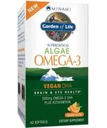 Garden of Life Minami Algae Omega-3 60 Softgels - $137.78