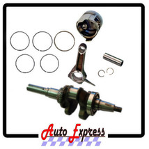 HONDA GX200 ROLLER KIT WITH CRANKSHAFT PISTON RINGS CON ROD PIN AND CLIP... - $48.95