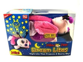 Mini Fluttery Butterfly Night Light Pillow Pets By Dream Lite In Box - $6.99