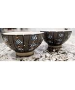 2 Gray Dessert Bowls Potters Workshop for West Elm - $23.40