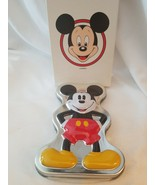 Disney Time Works Mickey Mouse Glow In The Dark Watch - In Box and Tin - $64.35