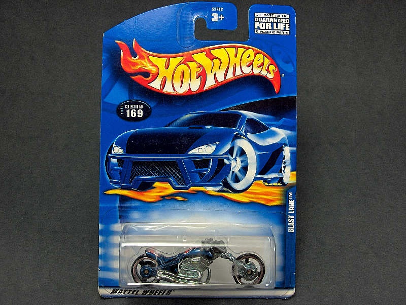 Hot Wheels Motorcycle Blast Lane #2001-169