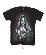 OG ABEL OGABEL Faith Grenade Heart Religion Mary Urban Mens T Tee Shirt ... - $25.10