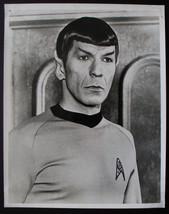 Vintage 1960's Star Trek Mr Spock Leonard Nimoy 8x10 Photo - $15.00