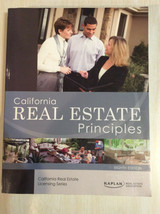 CALIFORNIA REAL ESTATE PRINCIPLES - EIGHTH EDITION - by STAPLETON / WILL... - $19.95