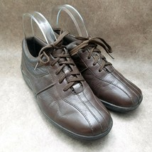 Easy Spirit Womens Utile  Sz 7 M Brown  Leather Lace Up Oxford Diabetic Shoes - $26.99