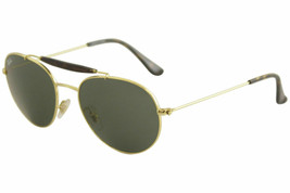 Ray Ban RB3540 RB/3540 RayBan 001 Gold Fashion Pilot Sunglasses 53mm - $181.17