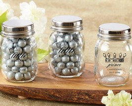 Personalized Printed Mini Mason Jar -Little Prince (3 Sets of 12)  - $59.99