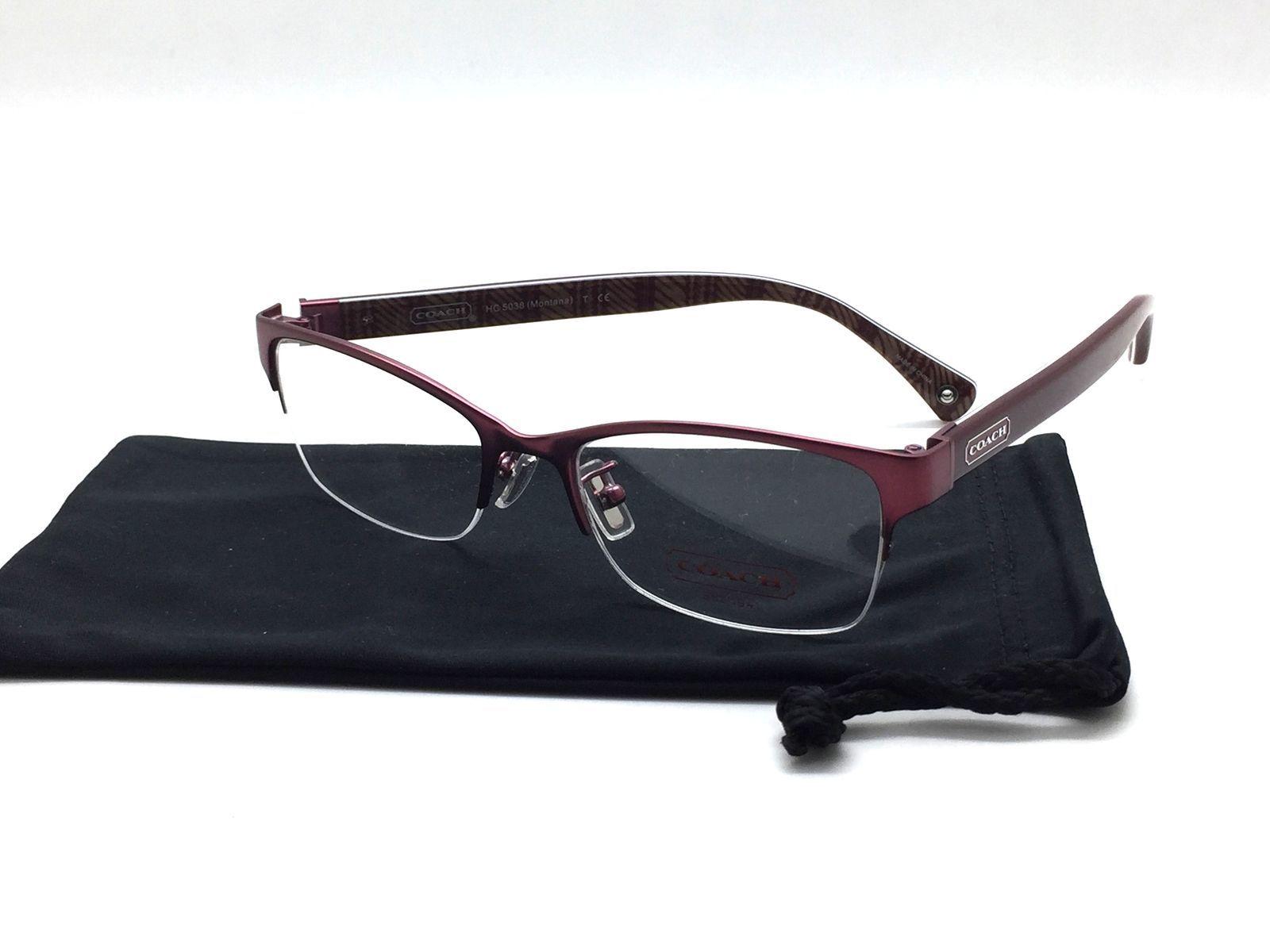4dd8e9b979e COACH 5038 9134 Montana Eyeglasses Optical and 50 similar items