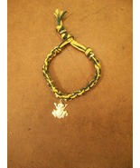 Macramé Nuts Bracelet - handcrafted - NEW! - $5.00