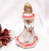 3922 Fenton Christmas Holly N Candy Cane Bridesmaid Doll - $85.00