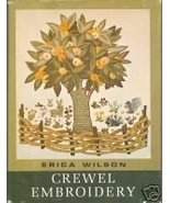 Crewel Embroidery by Erica Wilson Vladimir Kagan - $7.99