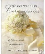 Elegant Wedding Ceremonies by Donna Kooler - $3.99