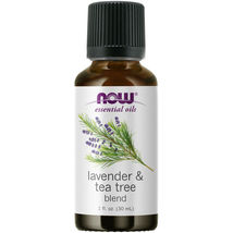 Now Foods Lavender & Tea Tree Oil 1 Fl. Oz Made In Usa - $22.86
