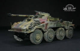 German SdKfz 234/4 Panzerspahwagen /w Interior 1:35 Pro Built Model - $272.25